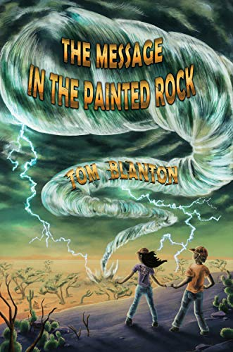 painted rock book cover