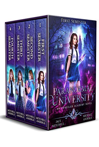 paranormal university book cover