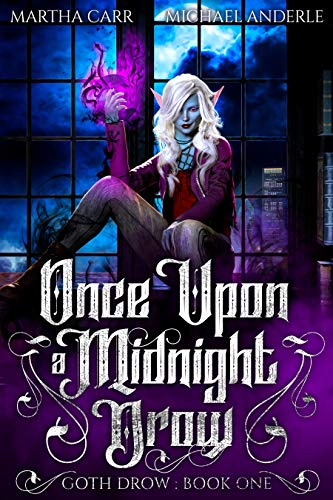 midnight drow book cover