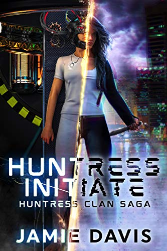 huntress initiate book cover