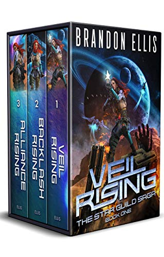Star Guild Saga Boxed Set book covers