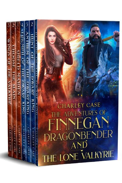 Finnegan Dragonbender box set cover