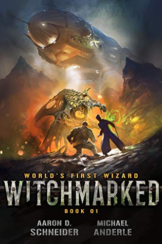 Witchmarked by Aaron D. Schneider book cover