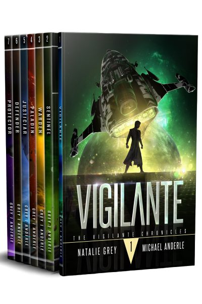 Vigilante Chronicles Omnibus box set book cover